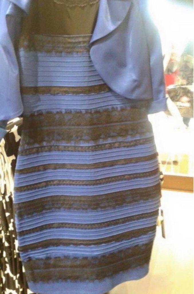 Wat is kleur: kan blauw wit lijken? Peter Moleman