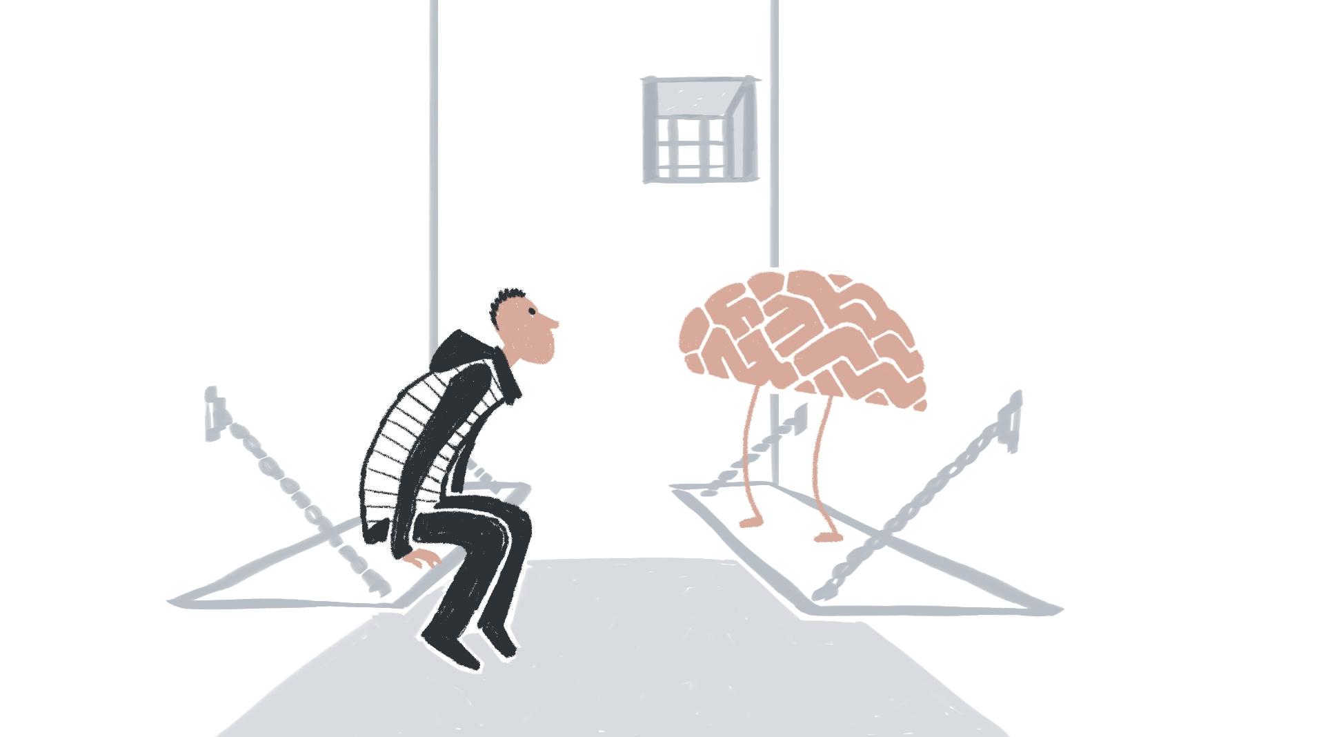 De parabel van het brein dat een moord pleegde | Peter Moleman
