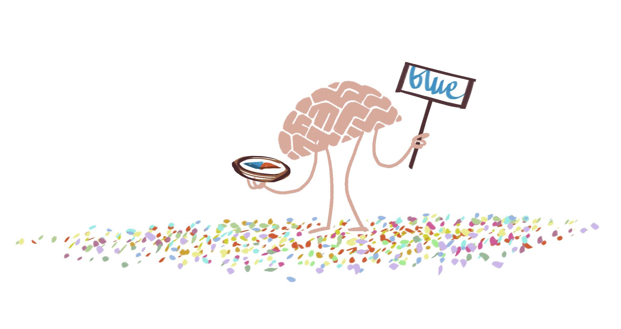 Wat is kleur: kan blauw wit lijken? | Peter Moleman