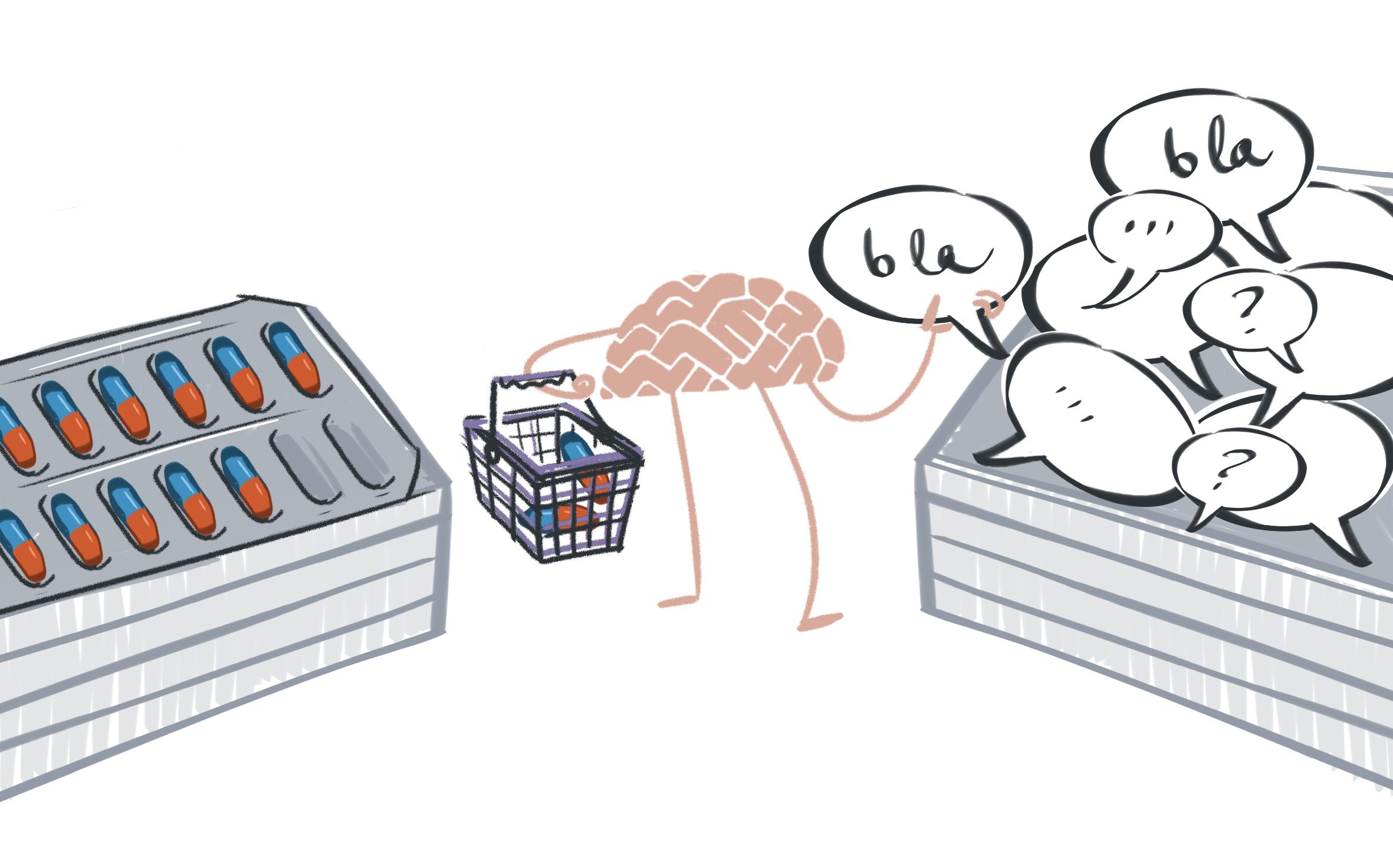 Waarom mensen geen antidepressiva willen en wel psychotherapie | Peter Moleman